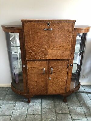 1920s Art Deco Cocktail Cabinet