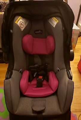 Evenflo Pro Series Lite Max 35 Infant Car Seat girls LOCAL PICK UP