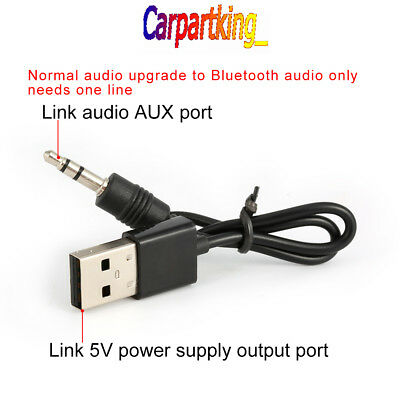 Mini USB Wireless Bluetooth V4.0 Audio Stereo Music Receiver Adapter AUX Car