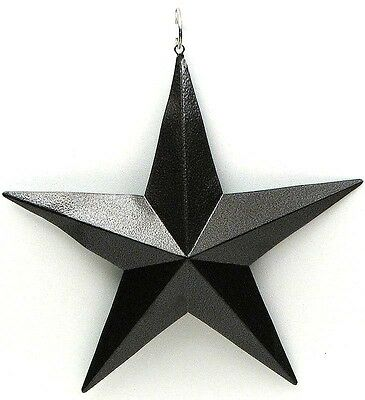 """Brown  Metal Star 5 """"( Set of 6)  Wall Hanging Plaque Sign Western Decor"""