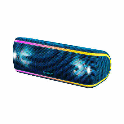 SONY SRSXB41L EXTRA BASS Portable Party Speaker (Blue) (Seconds)