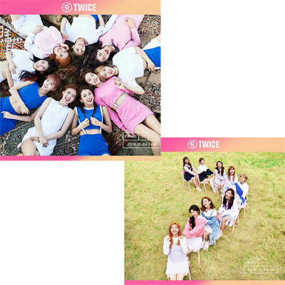 TWICE [TWICECOASTER:LANE 1] 3rd Mini Album RANDOM CD+Photo Book+2p Card SEALED