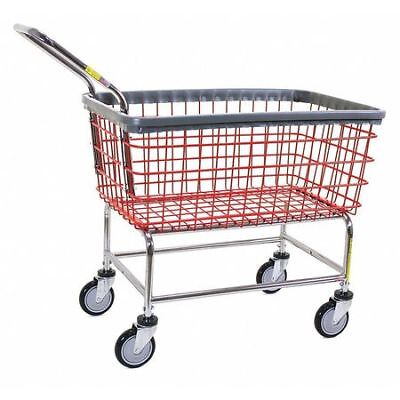 Wire Laundry Cart,600 lb. Ld Cap.,Red R&B WIRE PRODUCTS INC. 200CFRLCH