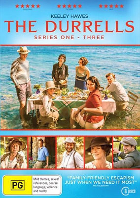Durrells : Series 1-3, The (DVD, 2018) (Region 4) New Release
