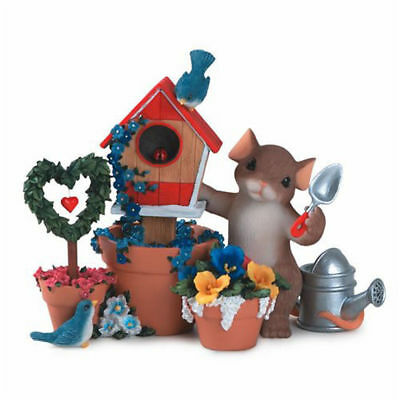 Fitz & FLoyd Charming Tails You Make Our Home Beautiful Mint 89/324