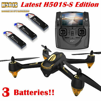 Hubsan H501S-S X4 Drone FPV GPS 1080P HD Follow Me Brushless RC Quadcopter RTF