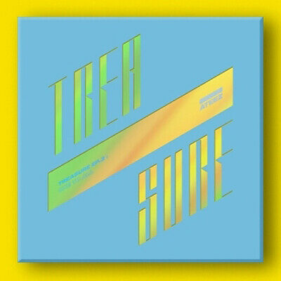 ATEEZ [TREASURE EP.3:ONE TO ALL] 3rd Mini Album WAVE CD+Book+Poster+11Card+etc