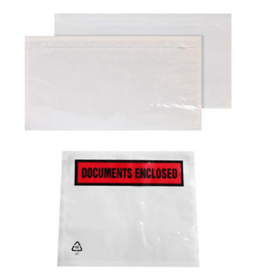 A7 Documents Enclosed Wallets Envelopes Pouch PRINTED Self Adhesive NEW