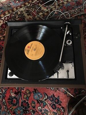 Vintage Dual 1225 Turntable Record Player UNTESTED