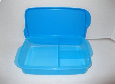 TUPPERWARE Large Lunch-It® DIVIDED Container & Seal BPA Free FREE US SHIP