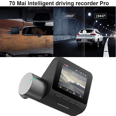 500 Million Pixels PRO MIJIA 70 Mai Intelligent Driving Recorder Assistant Black