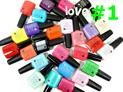 Cnd Shellac Gelcolor Esmalte de Uñas / Base / Top / Nuevo Gel Color #1 -