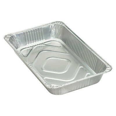 GENUINE JOE GJO10703 Full-Size Disposable Aluminum Pan,PK50