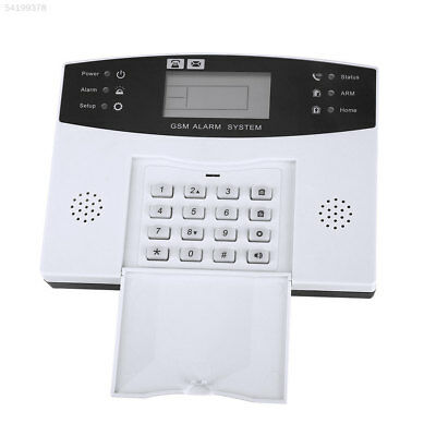 3E64 Chinese/English Voice LCD GSM Home Burglar Alarm Support Remote Monitoring