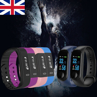 Bluetooth Fitness Activity Tracker Smart Bracelet Sports Watches for Android iOS