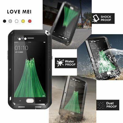 Love Mei Powerful Shockproof Waterproof Metal Aluminum Case For OPPO R11 Plus DZ