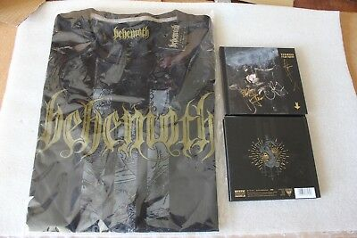 BEHEMOTH - I Loved You At Your Darkest CD DIGIBOOK SIGNED BY BAND + T-SHIRT