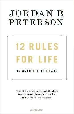 12 Rules for Life: An Antidote to Chaos Hardcover  FAST