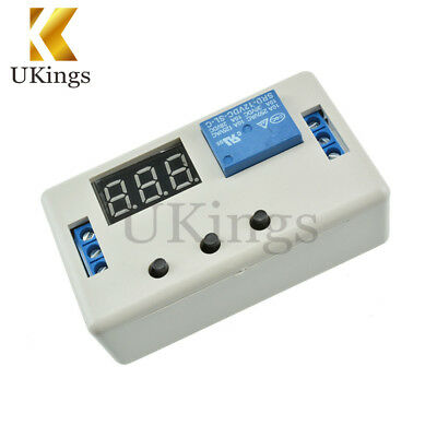 12V LED Automation Delay Timer Control Switch Relay Module PCB Board With Case