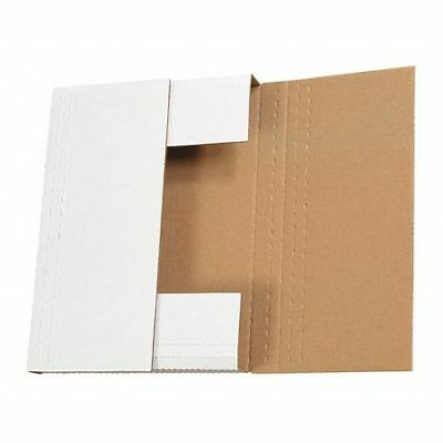 "Easy-Fold Mailers,9 1/2""x6 1/2""x3 1/2"",Wht,PK50 PARTNERS BRAND M9635BF"