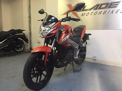 Kymco VSR 125i Manual Motorcycle, 2017, 1 Owner, Low Miles, V Good Condition
