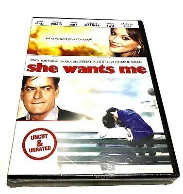 She Wants Me DVD Uncut & Unrated BRAND NEW SEALED Region 1 US