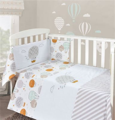 Baby Nursery Cot 3pc Quilt Per