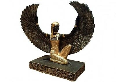 Isis Statue. Winged. Goddess. Life and Love, Feminine,