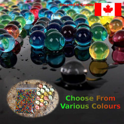 Water Beads Plant Gel Balls Orbeez. 1 pack of 2500. Choose Colour.