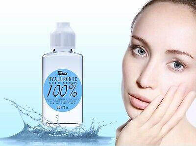 100% Pure HYALURONIC Acid Serum 35ml buy2 get3 Introductory Price UK made