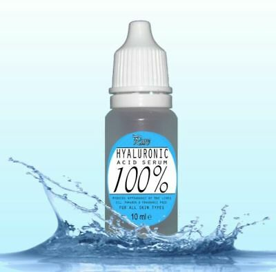 100% Pure HYALURONIC Acid Serum 10ml buy2 get4 Fountain of Youth