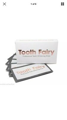 1 Box (14 X Pouches) 2 Week Supply Tooth Fairy Teeth Whitening Strips THE BEST!!