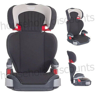 Graco Junior Maxi Lightweight Highback Booster Car Seat Dove Grey 4 To 12 Years