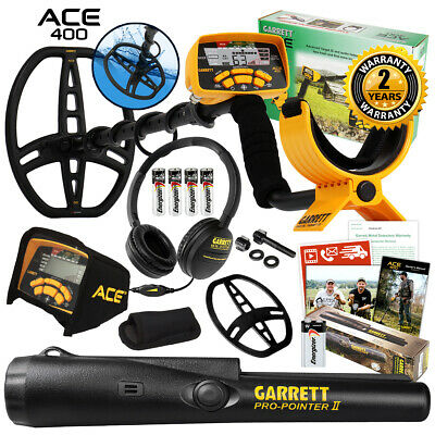 Garrett ACE 400 Metal Detector Fall Special with Pro Pointer II & 3 Accessories