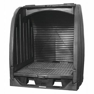 "BLACK DIAMOND ECO SOLUTIONS 4064-BD-D Drum Spill Containment Pallet,69"" H"