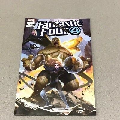 Fantastic Four 1 Jetpack Comics/forbidden Planet Exclusive Inhyuk Lee Variant