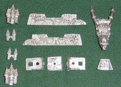 Rare metal Citadel GW Man O' War  OOP  Dark Elf Black Ark flagship
