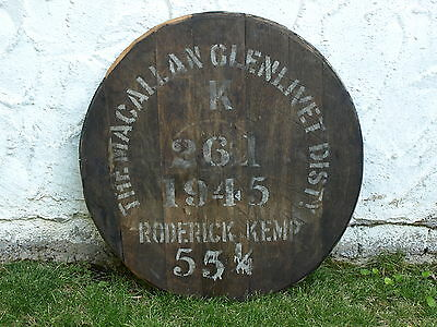 ★ Macallan Glenlivet 1945 ★ Original Cask End ★ Single Malt Scotch Whisky ★