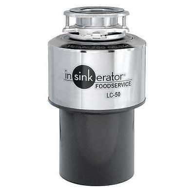 Garbage Disposal,Commercial,1/2 HP IN-SINK-ERATOR LC-50-11