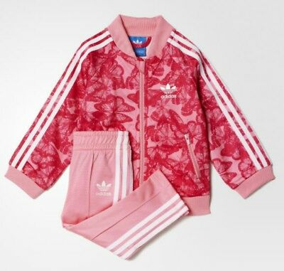 ADIDAS ORIGINALS JUNIOR SST Track Top Jacket Pink Girls 9-10-11-12 ... 7d862cd9e9e8