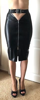 Latex pencil Rock vexclothing  USA Gr. S Rubber Skirt Dress NP 215$