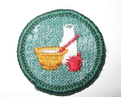 """Vintage Girl Scout """"Cook"""" Badge Circa 1950's-Clearance!"""