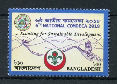 Bangladesh 2018 MNH 6th National COMDECA Scouting 1v Set Scouts Stamps
