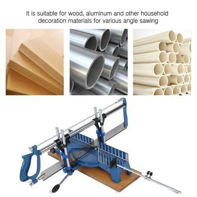 GS Iron Manual Precision Mitre Hand Saw Angle Woodwork Carpentary Saw Hand Tools
