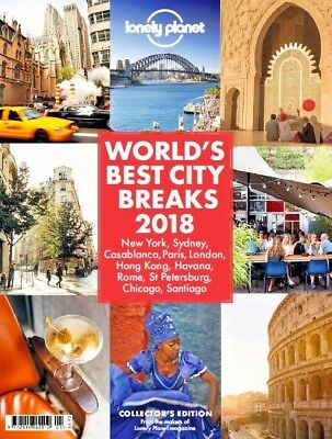 Lonely Planet Magazine / Book ~ World's Best City Breaks 2018 ~