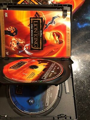 The Lion King (Two-Disc Platinum Edition DVD) w/ Slipcover!
