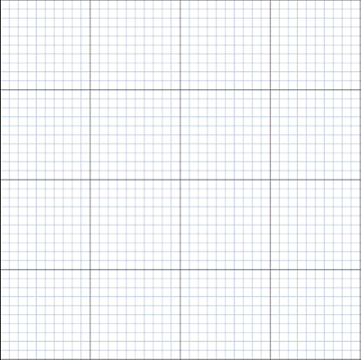 3 x GRID / GRAPH paper A0 size 140gsm Imperial 1 inch 1/10th inch premium paper