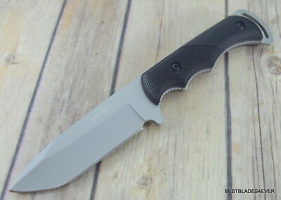 """8.4 Inch Gerber """"freeman Guide"""" Fixed Blade Hunting Knife With Nylon Sheath"""