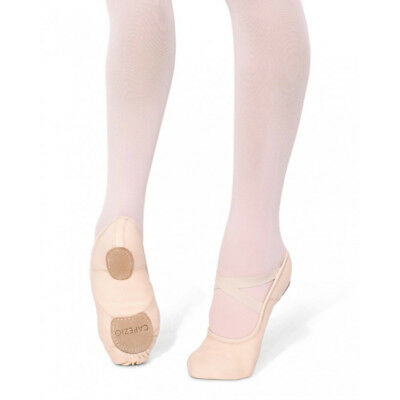 NIB Capezio Hanami Split Sole Canvas ballet shoe Light Pink- Adult Size