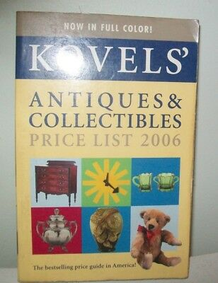 Used Kovels' Antiques & Collectibles price list 2006 in good condition